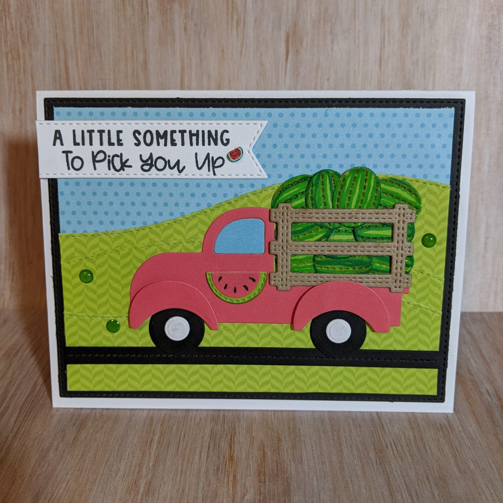 Watermelon Truck Card - Janet Wright - Keep Being Creative